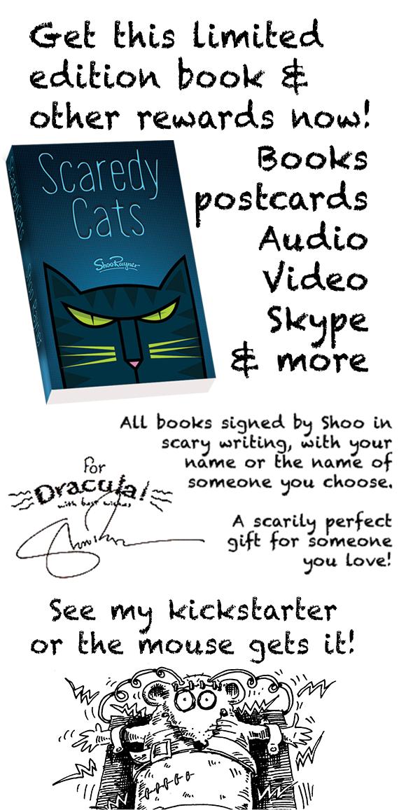 scaredy cats kickstarter appeal