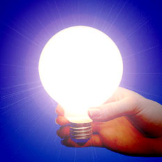 light bulb moment - where do ideas come from