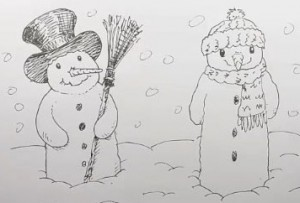 How To Draw A Snowman Shoo Rayner Author