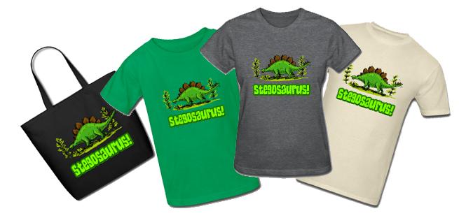 stegosaurus tshirst
