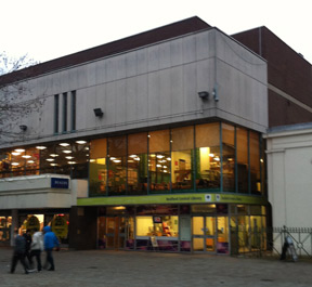 Bedford Library - Home of my teenage youth.