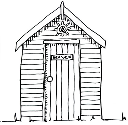 how to draw a beach hut  Shoo Rayner  Author