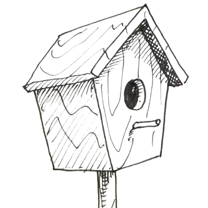 How To Draw A Bird Box | Shoo Rayner U2013 Author