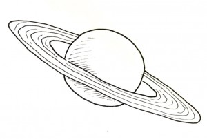 saturn planet drawing history ancient - photo #18
