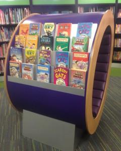 The Shoo Rayner Book Shrine in Rhyl Library!