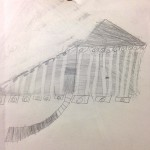Wonderful use of eraser to draw the columns!