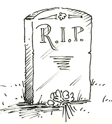 How To Draw A Tombstone Shoo Rayner Author
