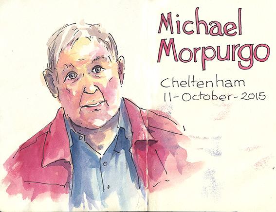 Sir Michael Morpurgo Shoo Rayner