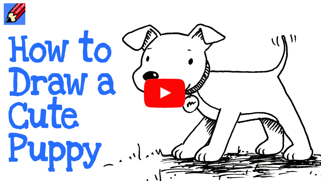 How to draw a cute puppy | Shoo Rayner – Author